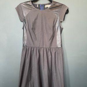 Rebecca Taylor Womens Cutout Short Sleeve Dress